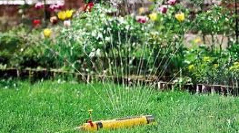 фото автоматической системы полива на даче