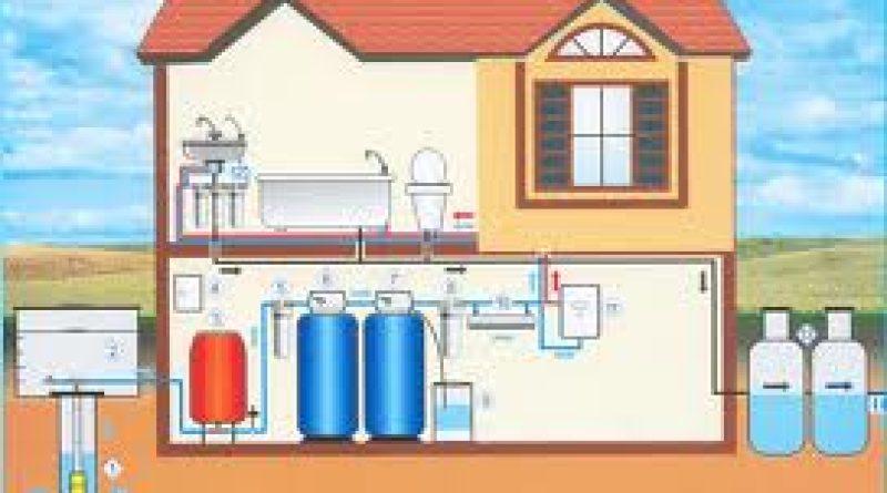 фото водоснабжение загородного дома