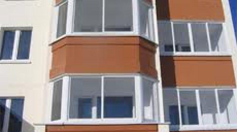 фото - балконные рамы ПВХ