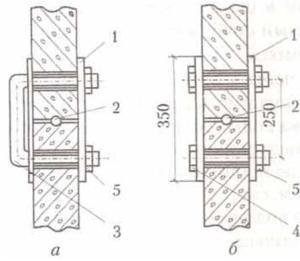 Соединения колец колодца - картинка