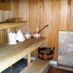 фото строительства бани на даче