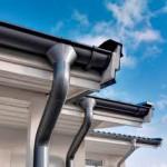 фото водосточных систем для крыши