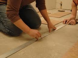фото как уложить напольную плитку