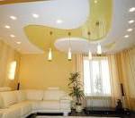 фото варианты натяжных потолков