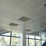 фото монтажа кассетных потолков