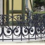 фото кованых перил для лестниц