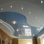 фото вариантов натяжных потолков