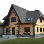 фото монтажа каркасного дома