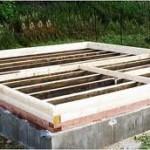фото как сделать фундамент под баню