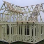 фото изготовление каркасных домов