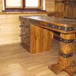 фото деревянная мебель для дачи