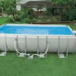 фото- -каркасный бассейн