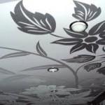 фото - виды натяжных потолков