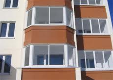 Картинка Балконные рамы ПВХ