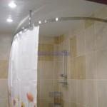 фото - карнизы для ванной