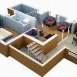 фото - Ремонт квартиры свободной планировки