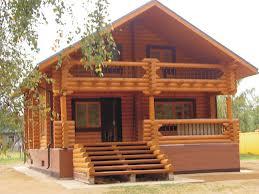 Картинка Дом из сруба