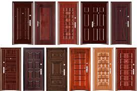 Картинка Виды стальных дверей.