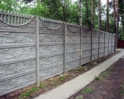 Картинка Забор из бетона