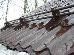 Картинка Трубчатые снегозадержатели