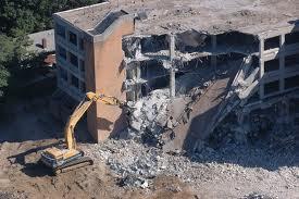 Фотография Демонтаж зданий